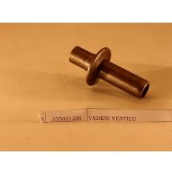 Vedení ventilu