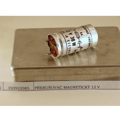 Přerušovač magnetický 12v 30A