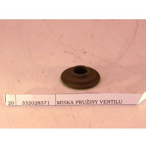 miska pružiny ventilu